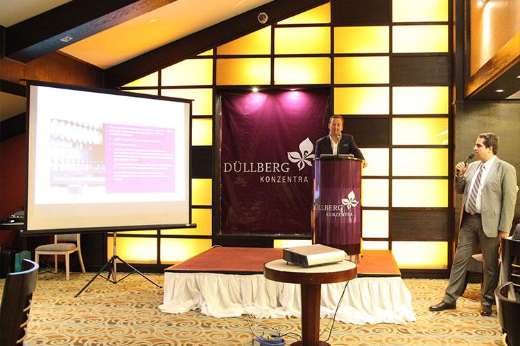 همایش نوین آسیا با حضور مدیران ارشد شرکت دالبرگ آلمان